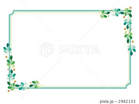 クリップアート 飾り枠 文字スペースのイラスト素材 2982153 Pixta