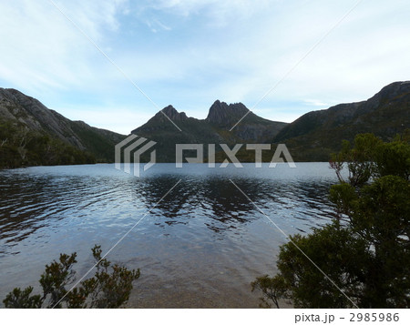 山と湖:Cradle Mountain 2985986