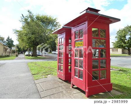 赤い電話ボックス(Rossにて) 2985999