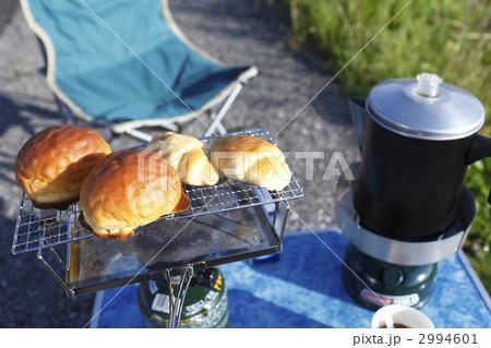キャンプの朝食の写真素材 [2994601] - PIXTA