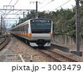 中央線 E233系 快速電車の写真 3003479