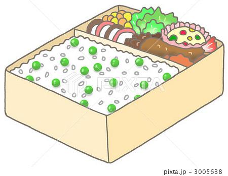 豆ご飯弁当 3005638