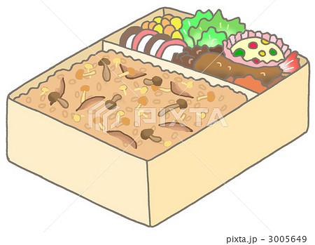 きのこご飯弁当 3005649