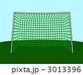 サッカーゴール サッカー用ゴール ゴール網のイラスト 3013396