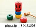 和玩具 だるま落とし ダルマ落としの写真 3013856