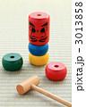 和玩具 だるま落とし ダルマ落としの写真 3013858