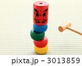 和玩具 だるま落とし ダルマ落としの写真 3013859