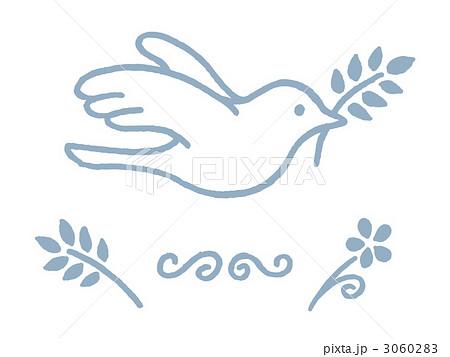 ナチュラルな鳥のイラスト素材 3060283 Pixta