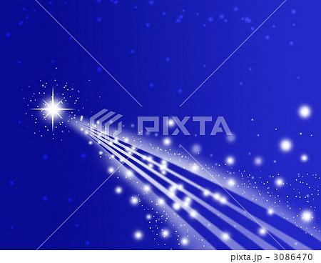流星のイラスト素材 3086470 Pixta