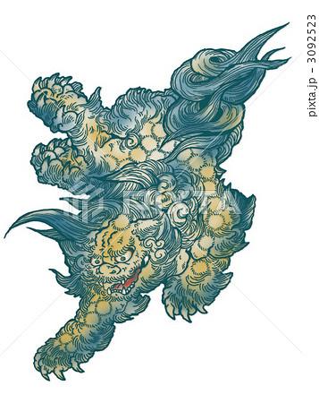 唐獅子 3092523