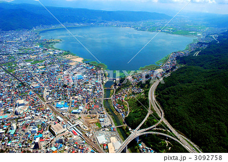信州 諏訪湖 3092758