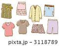 衣服 衣類 洋服のイラスト 3118789