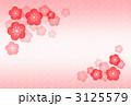 梅花 紅梅 梅の花のイラスト 3125579