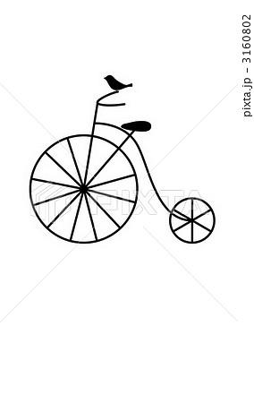 レトロな自転車のイラスト素材 ...