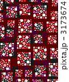 四角形 タイル パターンのイラスト 3173674