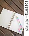 ノートとボールペン 3198806