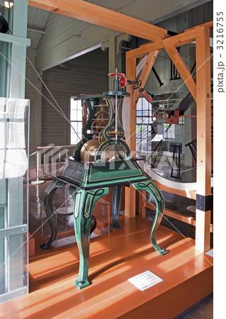 札幌市時計台 ハワード製の時打重錘振子式四面時計 3216755