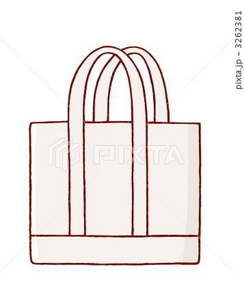 トートバッグのイラスト素材 3262381 Pixta