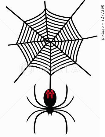 蜘蛛のイラスト素材 3277290 Pixta