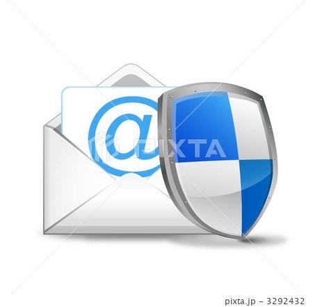 メールを守るセキュリティーシールド 3292432