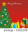 クリスマスツリー プレゼント クリスマスプレゼントのイラスト 3302109
