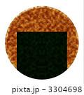 のりせんべい 煎餅 おせんべいのイラスト 3304698