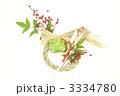 注連縄 辰 しめ飾りの写真 3334780