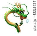 辰 干支 ドラゴンのイラスト 3338427