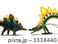 辰 ステゴサウルス ドラゴンのイラスト 3338440