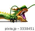 干支 辰 ドラゴンのイラスト 3338451