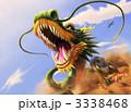 辰 龍 ドラゴンのイラスト 3338468