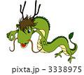 辰 干支 ドラゴンのイラスト 3338975