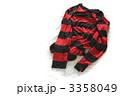 赤黒ボーダーカットソー 3358049