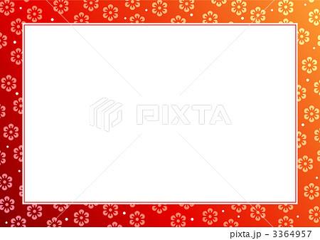 正月枠1のイラスト素材 3364957 Pixta