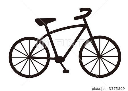 自転車ロゴアイコンのイラスト ...
