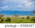 Landscape of Ngorongoro crater in Tanzania 3389267