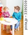 兄弟姉妹 幼児 幼稚園の写真 3390509