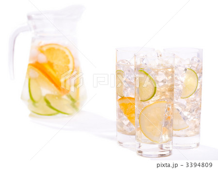 Citrus Ice Waterの写真素材 [3394809] - PIXTA