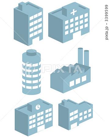 3399599. ベクター ビル 建物のイラスト