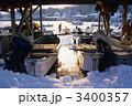 三陸宮古夕景(冬) 3400357