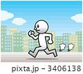 ランニング スポーツ 人物のイラスト 3406138