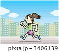 ジョギング 女性 3406139