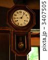 古時計 掛け時計 時計の写真 3407505