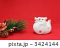 辰 正月飾り 辰年の写真 3424144