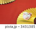 扇 辰 正月飾りの写真 3431385
