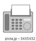 ファックス FAX ファクシミリのイラスト 3435432