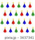 クリスマスツリーの包装紙 1 3437341