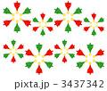 クリスマスツリーの包装紙 2 3437342