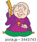 おじいちゃん 噺 ベクターのイラスト 3443743