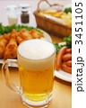 生中 ビール 生ビールの写真 3451105